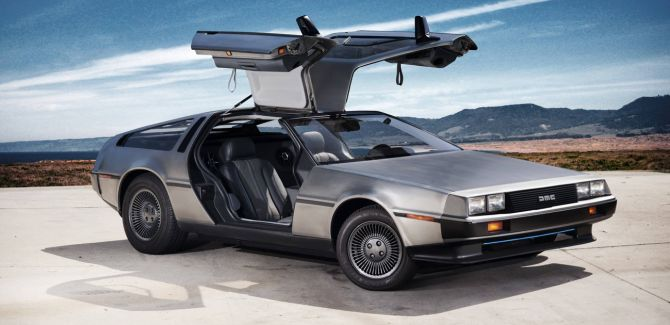 delorean dmc 12 kult auto aus 39 zur ck in die zukunft. Black Bedroom Furniture Sets. Home Design Ideas