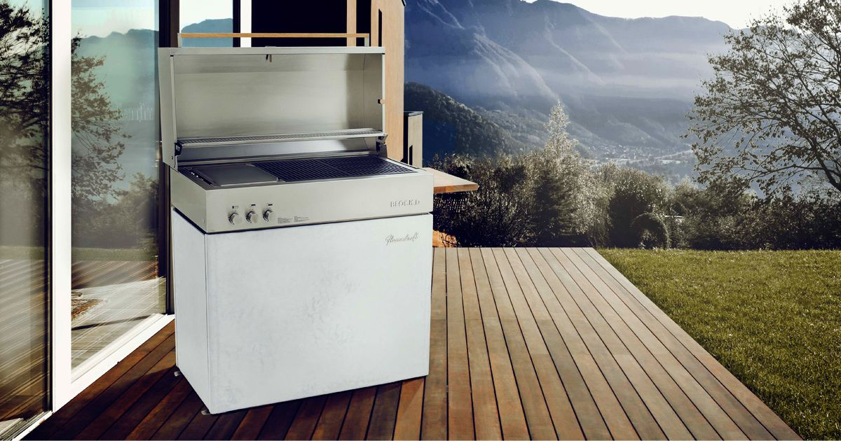 flammkraft dieser super luxusgrill arbeitet mit 900 grad mann tv. Black Bedroom Furniture Sets. Home Design Ideas