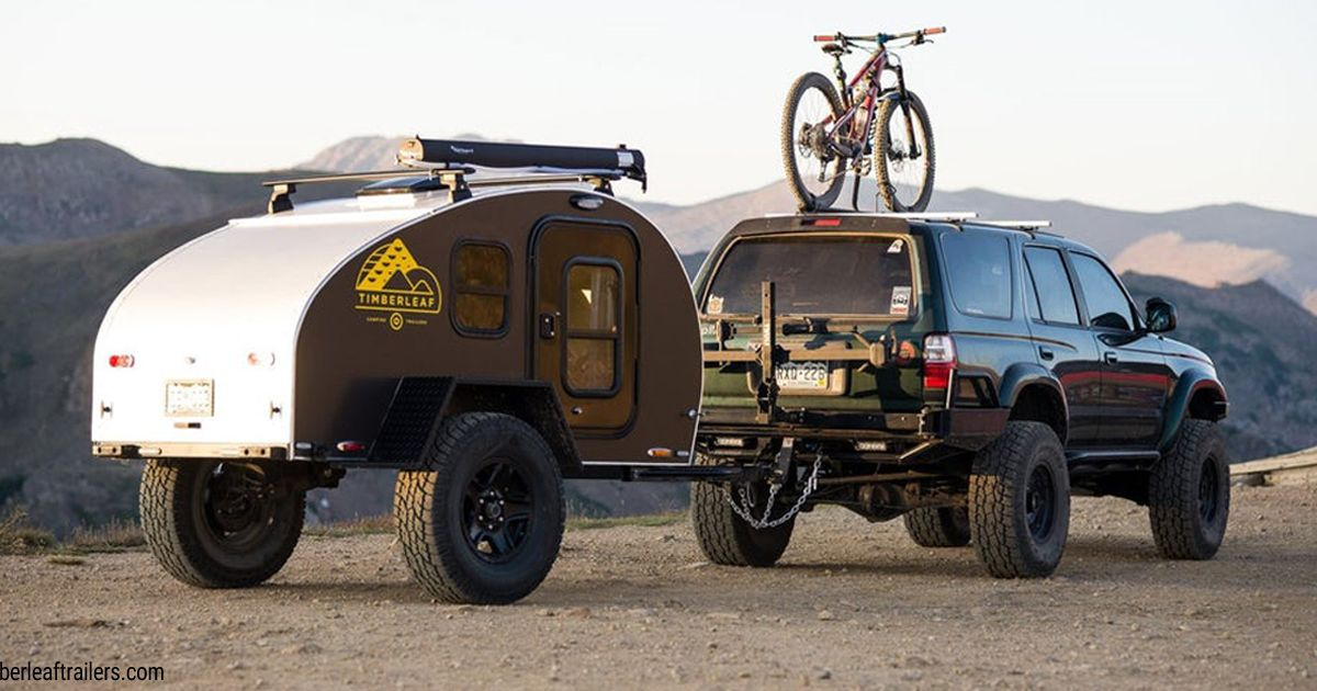 Timberleaf Pika Mini Wohnwagen F 252 R Offroad Abenteuer