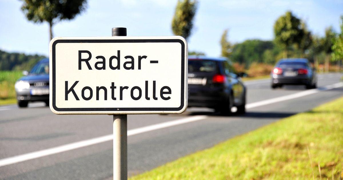 Neuer Bußgeld-Katalog: Wer 21 km/h zu schnell fährt ...