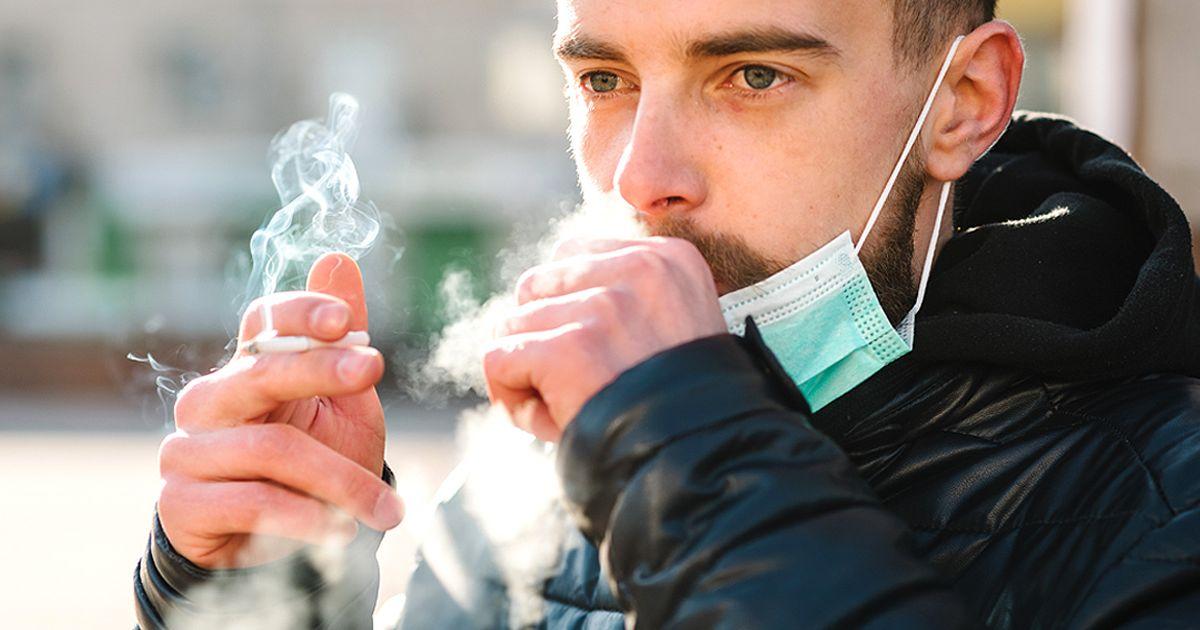 Rauchen Corona Studie