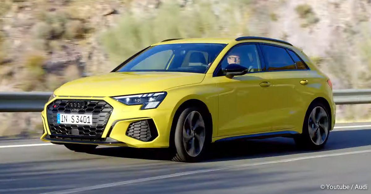 Audi S3 Sportback 2021 enthüllt - Mehr als 300 PS, in 4,8 ...