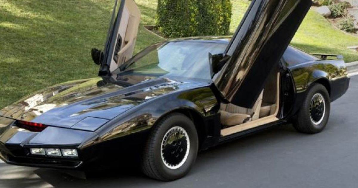 knight rider hasselhoff versteigert serien auto k i t t. Black Bedroom Furniture Sets. Home Design Ideas
