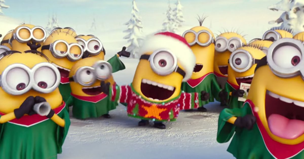 Video: Das Minions-Weihnachtslied – MANN.TV